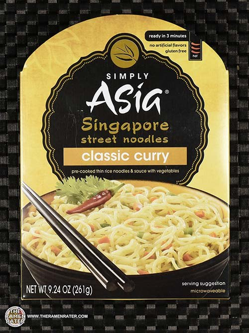 #3158: Simply Asia Singapore Street Noodles Classic Curry - United States