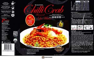 #3196: Prima Taste Singapore Chilli Crab Flavoured La Mian - Singapore