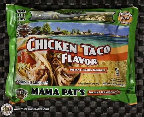 #3295: Mama Pat's Chicken Taco Flavor Instant Ramen Noodles - United States