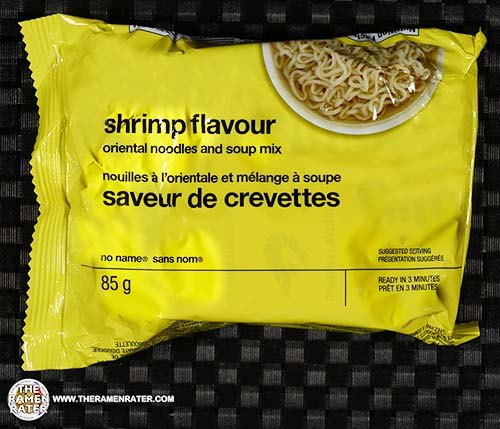 #3234: No Name Shrimp Flavour Oriental Noodles And Soup Mix - Canada
