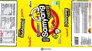#3237: Samyang Cheese Ramen - South Korea