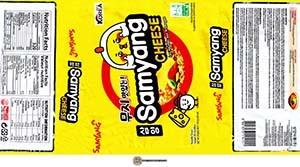 #3237: Samyang Cheese Ramen - South Korea