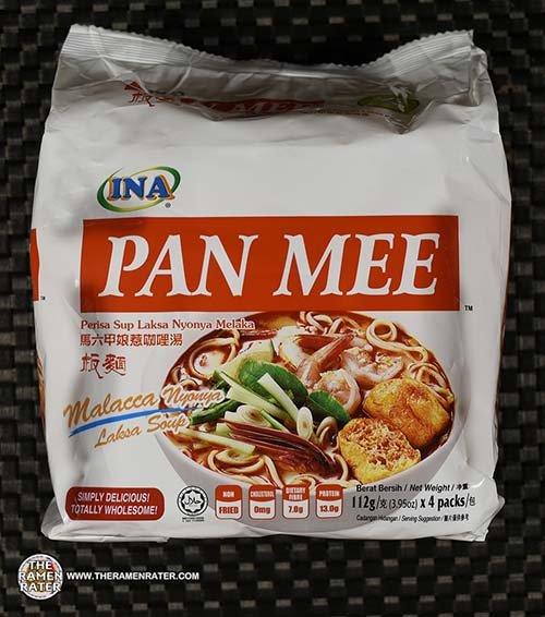 #3286: INA Pan Mee Perisa Sup Laksa Nyonya Melaka - Malaysia