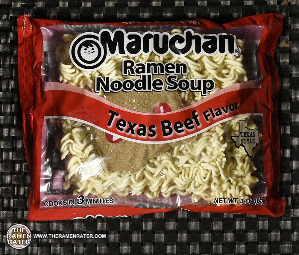 #3293: Maruchan Ramen Noodle Soup Texas Beef Flavor - United States