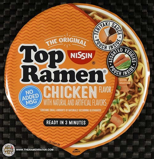 #3336: Nissin Top Ramen Chicken Flavor Bowl - United States