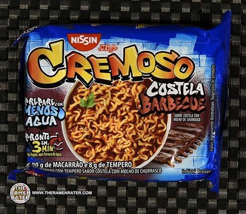 #3350: Nissin Miojo Cremoso Costela Barbecue - Brazil