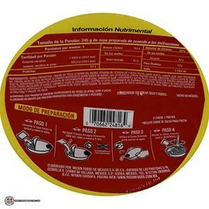 #3362: Nissin Pasta U.F.O. Res Teriyaki - Mexico