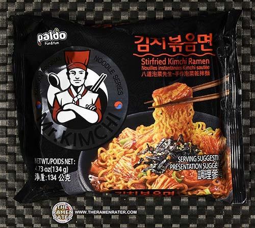 #3379: Paldo Mr. Kimchi Stirfried Kimchi Ramen - South Korea