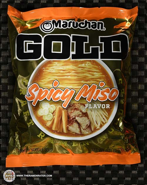 #3380: Maruchan GOLD Spicy Miso Flavor Craft Ramen Noodles - United States