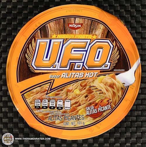 #3381: Nissin Pasta U.F.O. Sabor Alitas Hot - Mexico