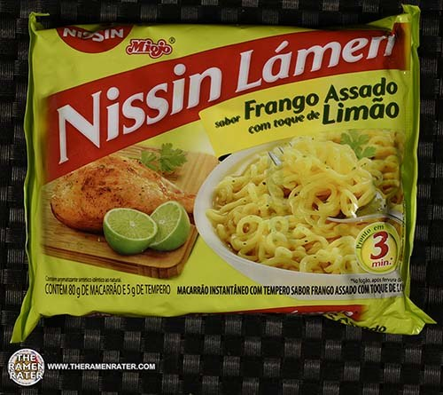#3383: Nissin Miojo Lamen Sabor Frango Assado Com Toque De Limao - Brazil