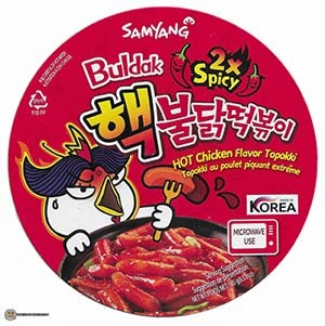 #3437: Samyang Foods Buldak 2x Spicy HOT Chicken Flavor Topokki - South Korea
