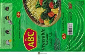 #3423: mi ABC Mi Instan Vegetable Flavour - Indonesia
