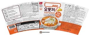 #3455: Young Poong Yopokki Cheese Topokki (Rice Cake) - South Korea