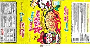 #3457: Samyang Buldak Corn HOT Chicken Flavor Ramen - South Korea