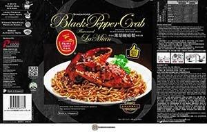 Prima Taste Singapore Black Pepper Crab Flavoured La Mian - Singapore