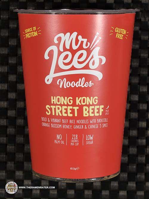 #3507: Mr Lee's Noodles Hong Kong Street Beef - United Kingdom