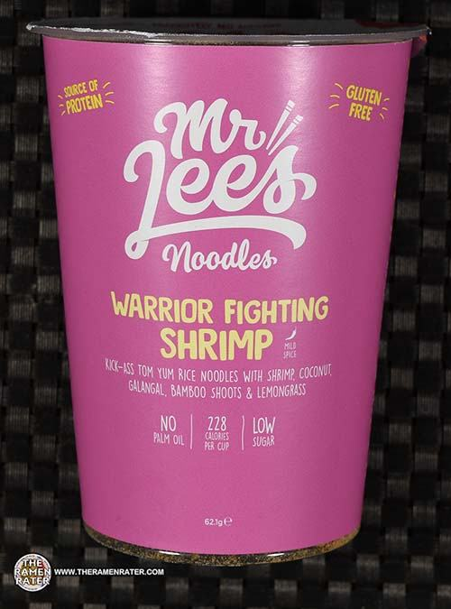 #3510: Mr Lee's Noodles Warrior Fighting Shrimp - United Kingdom