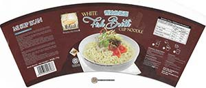 #3514: MyKuali White Fish Broth Cup Noodle - Malaysia