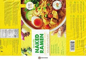 #3491: Lemonilo Naked Ramen Chicken Curry Soup - Indonesia