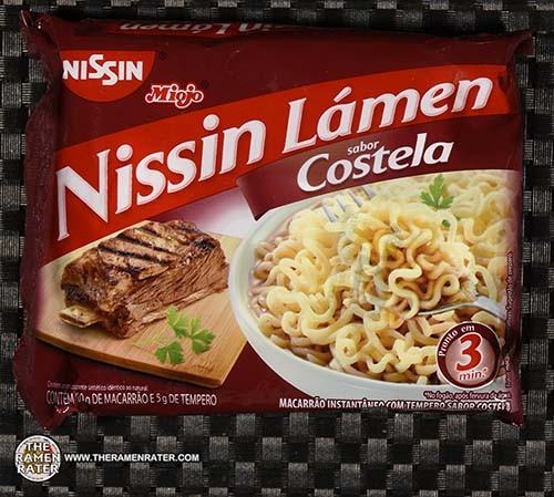 #3538: Miojo Nissin Lamen Sabor Costela - Brazil