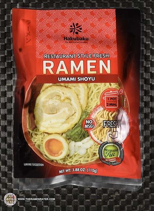 #3550: Hakubaku Restaurant Style Fresh Ramen Umami Shoyu - United States
