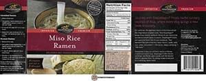 #3562: Snapdragon Miso Rice Ramen - United States