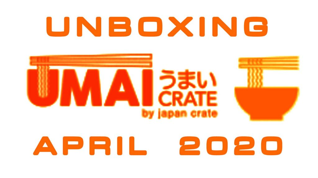 Umai Crate Japanese Ramen Subscription Box April 2020