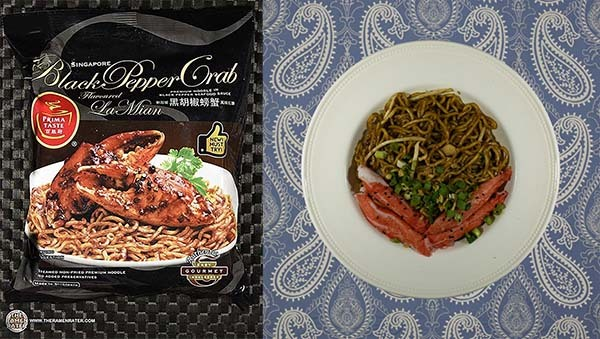 Top Ten Instant Noodles Prima Taste Singapore Black Pepper Crab Flavoured La Mian - Singapore