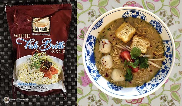 Top Ten Instant Noodles 2020 White Fish Broth Noodle - Malaysia