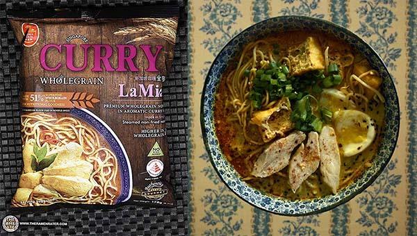 Top Ten Instant Noodles 2020 Taste Singapore Curry Wholegrain La Mian - Singapore