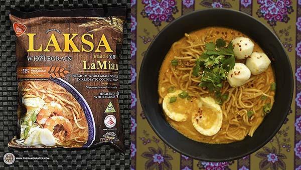 Top Ten Instant Noodles 2020 #1: Prima Taste Singapore Wholegrain Laksa La Mian — Singapore