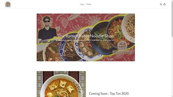 The Ramen Rater Shop Top Ten Instant Noodles 2020