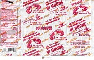 Meet The Manufacturer: #3604: Vi Huong Spicy Shrimp Flavour Instant Noodles - Vietnam