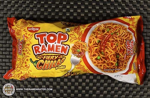 #3612: Nissin Top Ramen Fiery Chilli Noodles - India