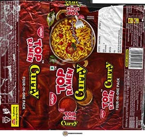 #3624: Nissin Top Ramen Curry - India