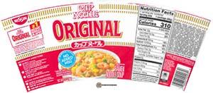 #3647: Nissin Cup Noodle Original Ramen Noodle Soup - United States