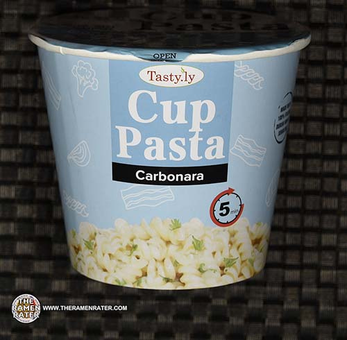 #3651: Tasty.ly Cup Pasta Carbonara - Singapore