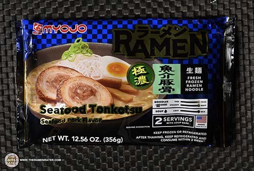Meet The Manufacturer: #3655: Myojo Ramen Seafood Tonkotsu - United States