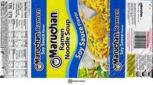 #3703: Maruchan Ramen Noodle Soup Soy Sauce Flavor - United States