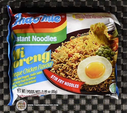 #3705: Indomie Instant Noodles Mi Goreng Barbeque Chicken Flavour - Indonesia