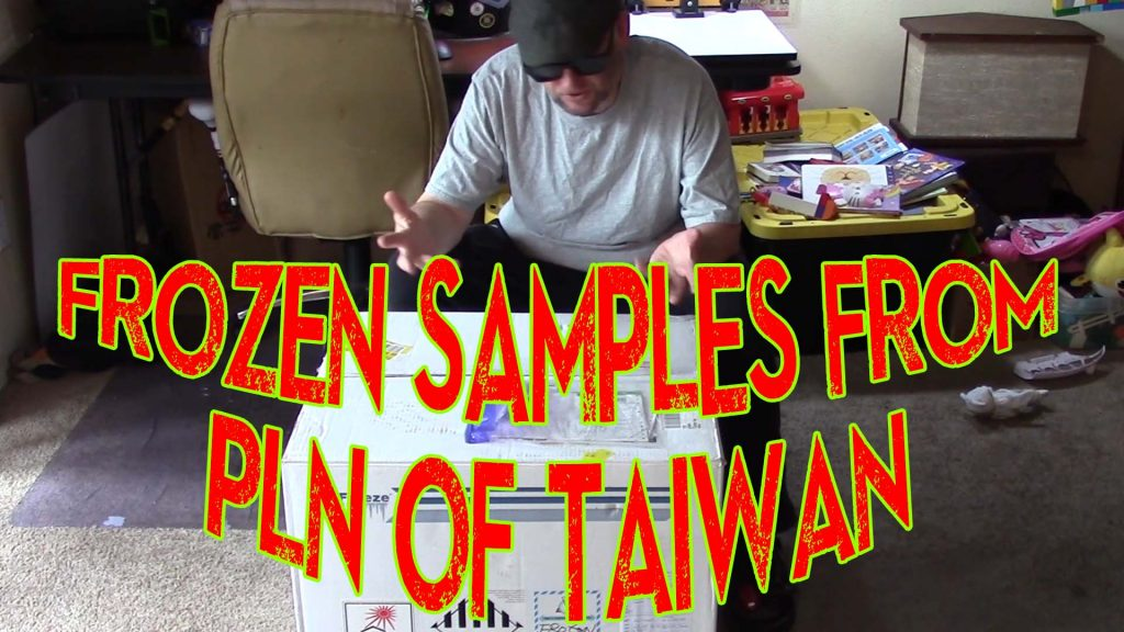 A Huge Box Of Frozen Samples Shipped From Taiwan!