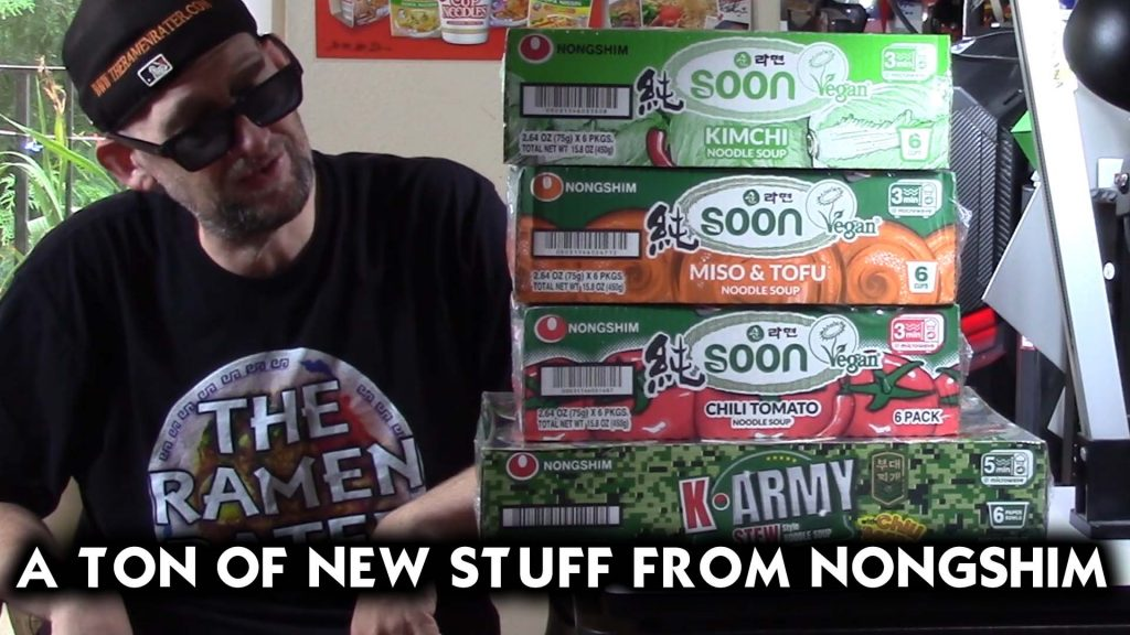 A Heap Of New Stuff From Nongshim!