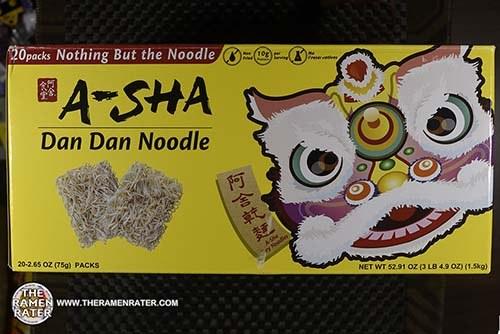 #3819: A-Sha Dan Dan Noodle - Taiwan